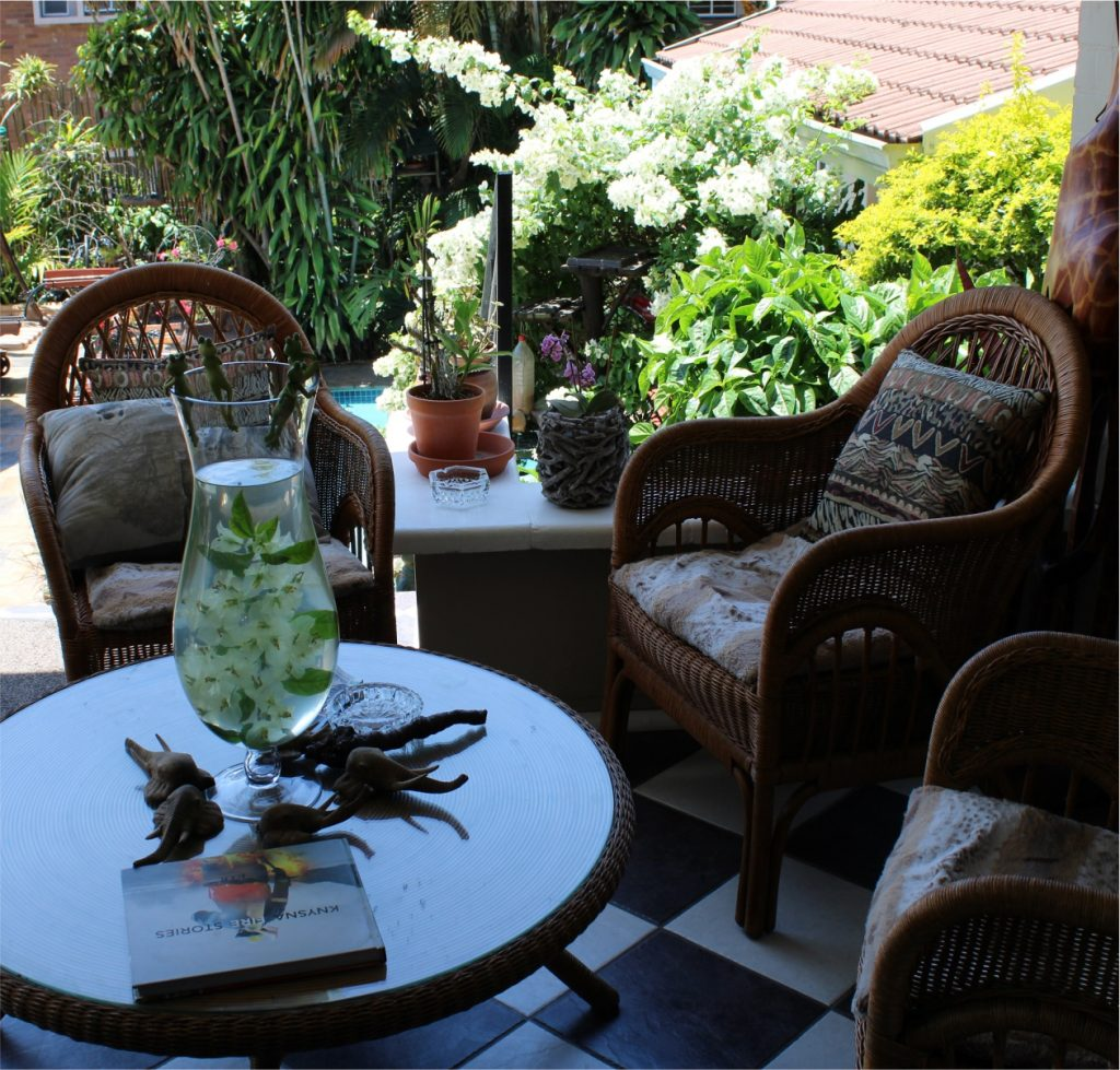 Acorn B&B Outdoor Business Meetings - Guesthouse Accommodation - Berea, Durban, South Africa
