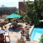 Acorn B&B Outdoor Patio View - Guesthouse Accommodation - Berea, Durban, South Africa