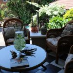 Acorn B&B Outdoor Patio - Guesthouse Accommodation - Berea, Durban, South Africa